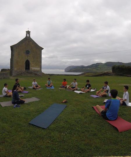 Yoga and Pilates in Mundaka beach