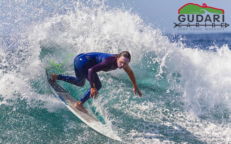 Dropping the waves, Gudari Caribe Surf Lessons
