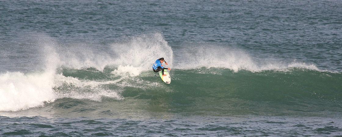Dennys Mendoza Surf Power Mundaka
