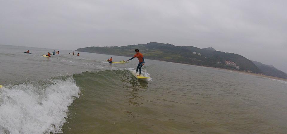 On the waves Gudari Caribe Mundaka Surf