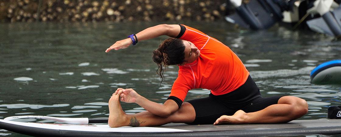 SUP Yoga in Mundaka