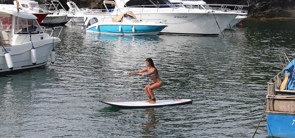 Training Paddle Pilates and Yoga in Mundaka